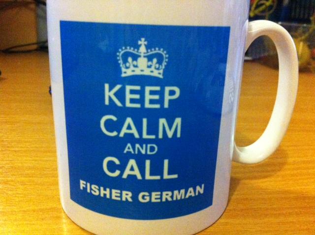 Fisher German Mug